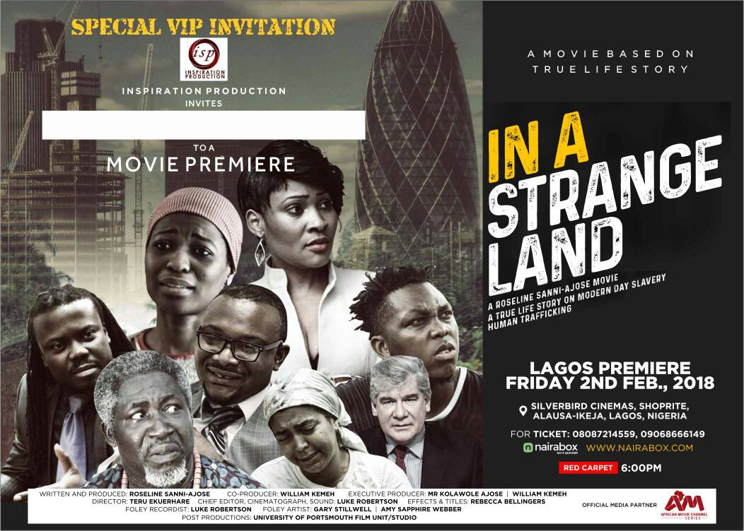 movie premier in a strange land tha revue