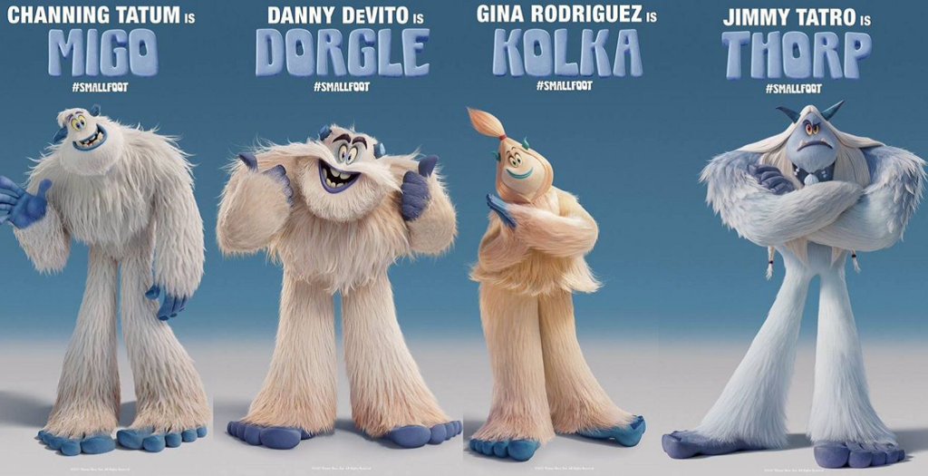 90dfd0b2936d Smallfoot with the voice talents of Channing Tatum